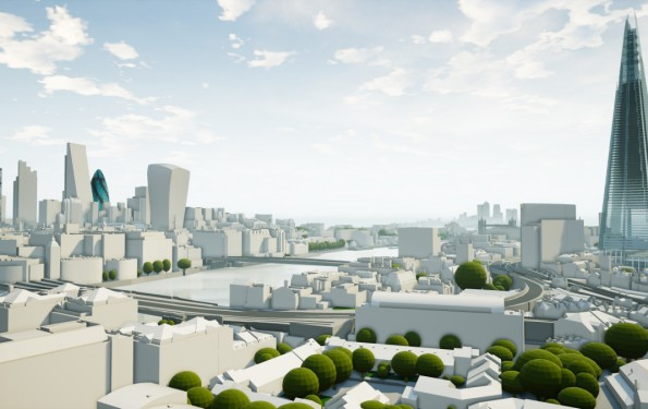 3D LONDON MODELS BY ACCUCITIES